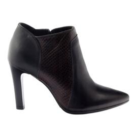 Espinto 107/30 women's boots black multicolored