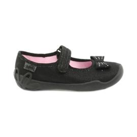 Befado children's footwear ballerina slippers 114x240 black silver
