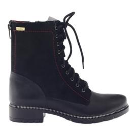 Boots women's boots Kazkobut 2809 black