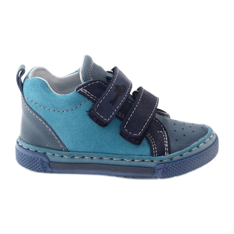 Boys' shoes - baby shoes Ren But 1429 blue multicolored