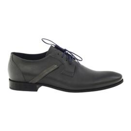 Grey Men's shoes Pilpol PC006 gray