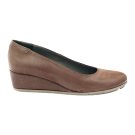 Pumps koturno Edeo 2354 beige brown