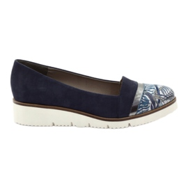 Edeo Shoes LORDSY comfortable navy blue