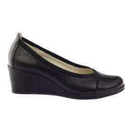 Wedge heels Gregors 624 black