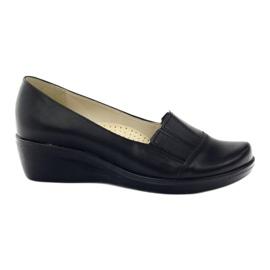 Gregors 255 wedge heels 255 black