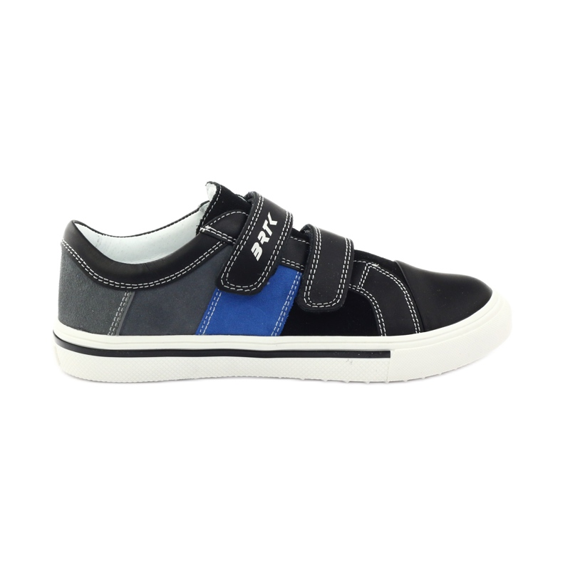 Boys' shoes Bartek 18607 black grey blue white