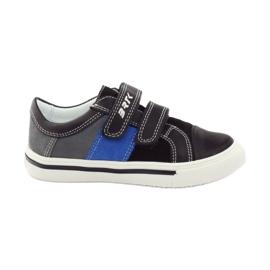 Boys' shoes Bartek 15607 black multicolored grey blue