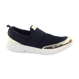 McKey Sport softshell shoes in black / gold