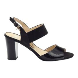 Caprice sandals women's shoes 28307 black