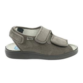 Sandals for diabetics Befado 676d006 grey