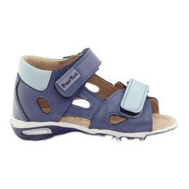 Boy's sandals, turnips Bartuś blue