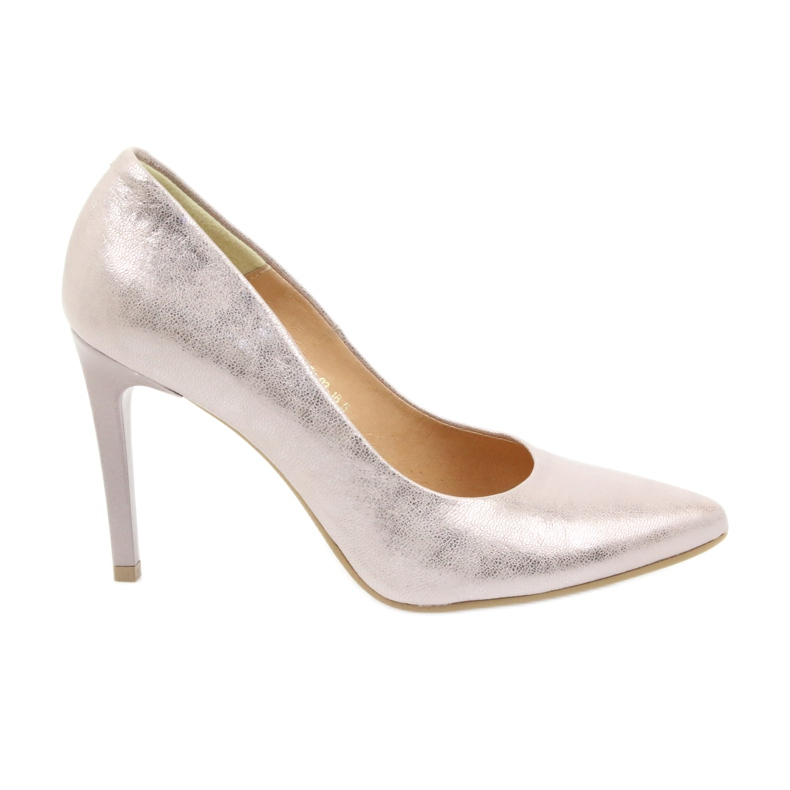 Espinto Pumps On High Heel Pearl Rose multicolored pink
