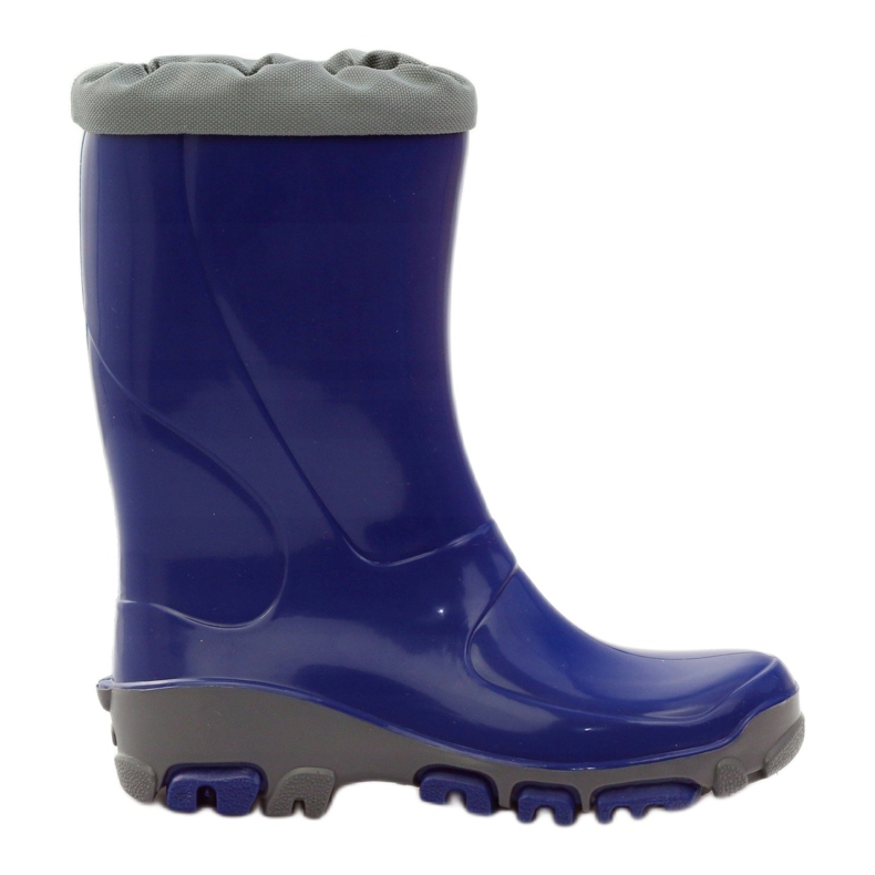 Ren But Galoshes with silver ions Ren. Cornflower boots blue grey