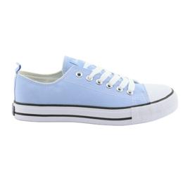 Blue American Club sneakers