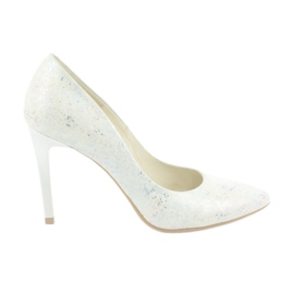 Espinto Pumps shimmering 456/96 white
