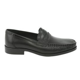Pilpol Moccasins shoes black Pilbut 01
