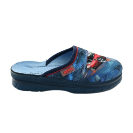 Slippers flip car Befado 708y001 gr navy red blue