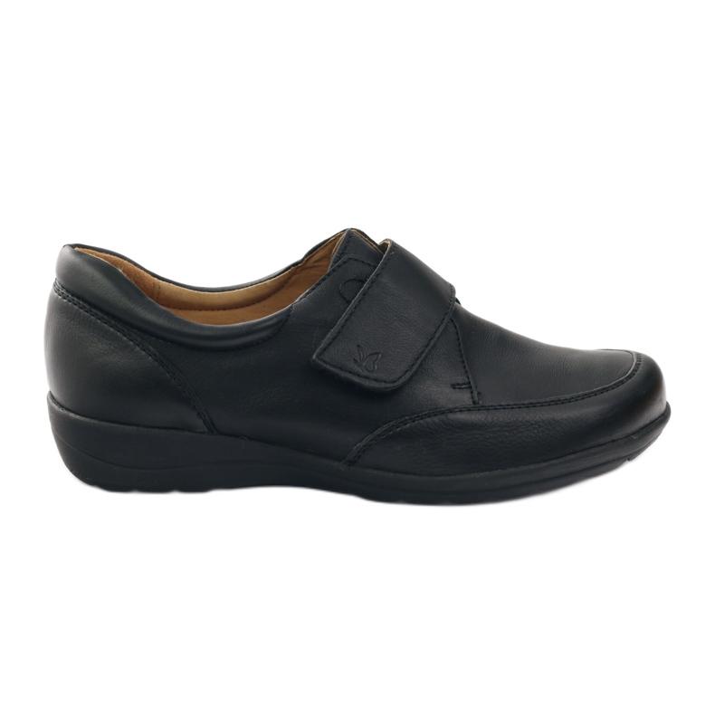Caprice shoes loafers women's shoes teg.H black