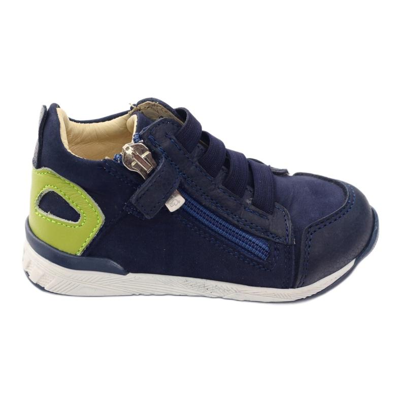 Boots slider Bartuś 181 navy blue green