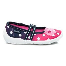 Viggami Polka dots boots pink