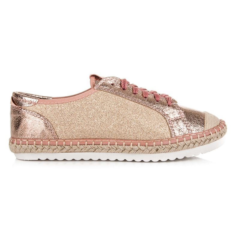 Comer Textile shoes Espadrilles pink