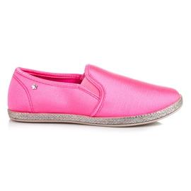 Balada Slip On Espadrilles pink