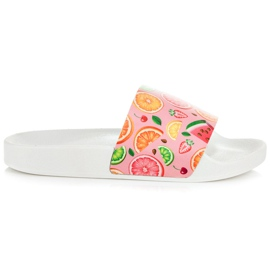 Vices Fruit Slippers pink
