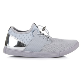 Seastar grey Sport Shoes With A Puller
