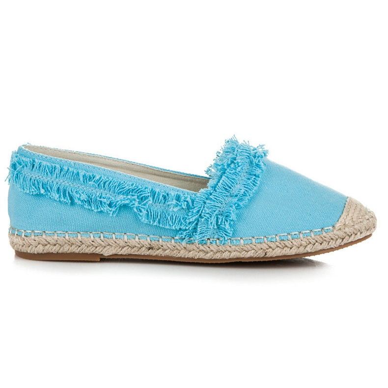 Vices Blue Espadrilles With Tassels