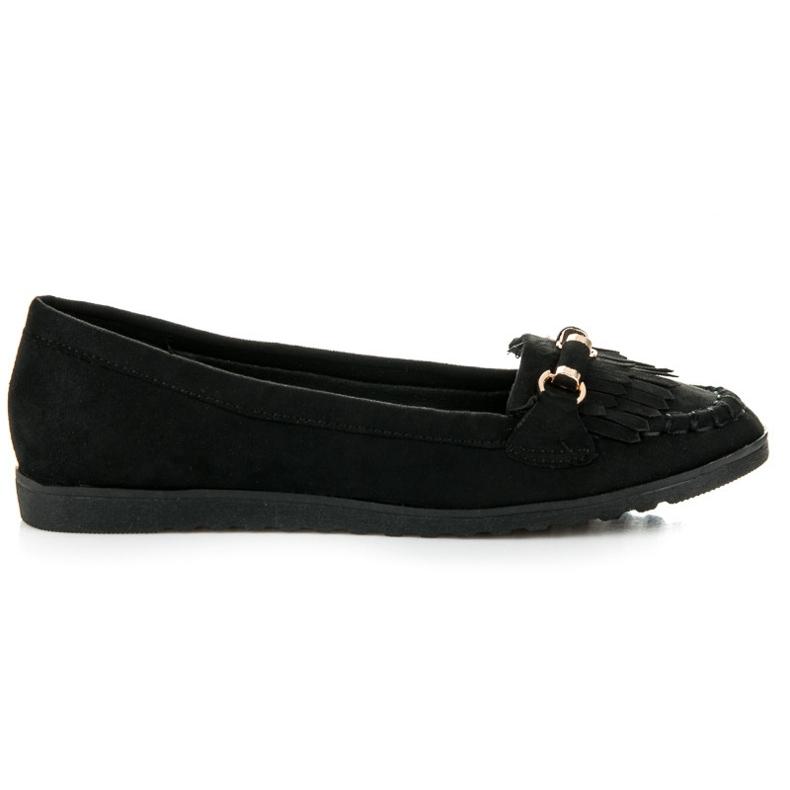 Seastar Loafers with tassels black
