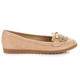 Seastar Loafers with tassels brown
