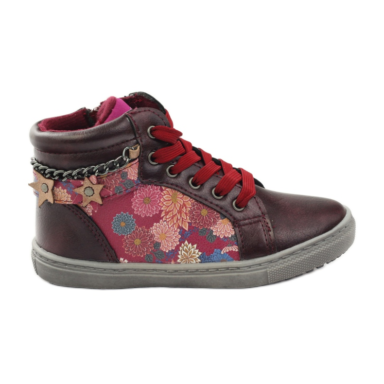 American Club ADI sport shoes bootees American 10108 pink multicolored