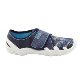 Soft-B Befado 273y214 insole slippers navy blue
