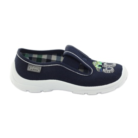 Befado children's shoes slippers 975x169 navy green grey