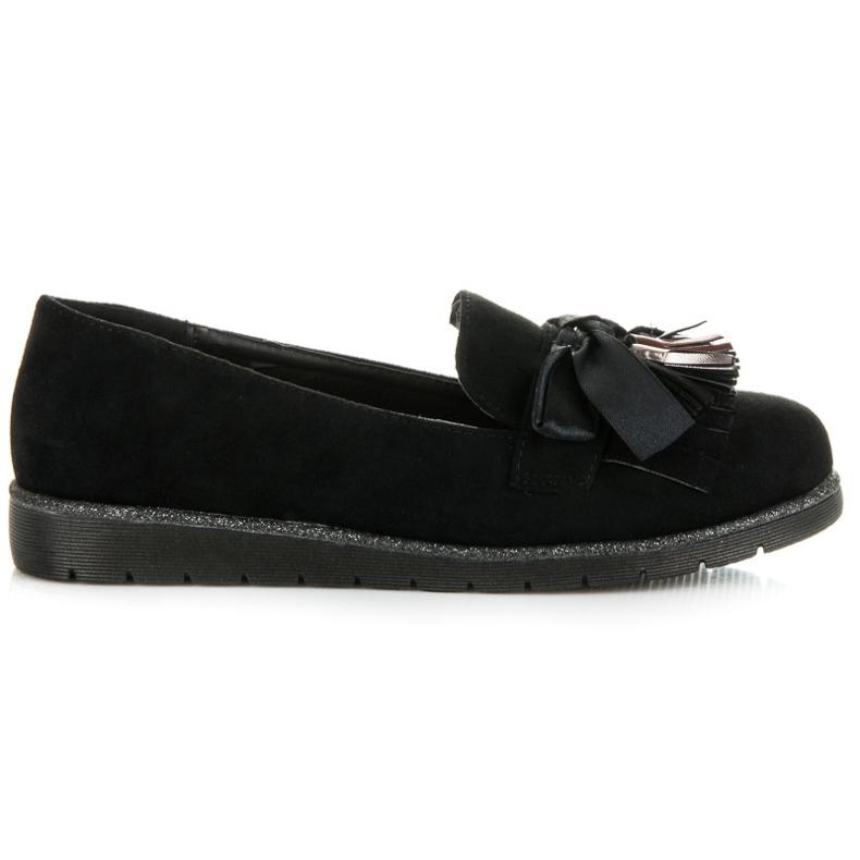 Seastar Suede loafers black