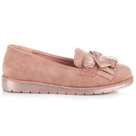 Seastar Suede loafers pink