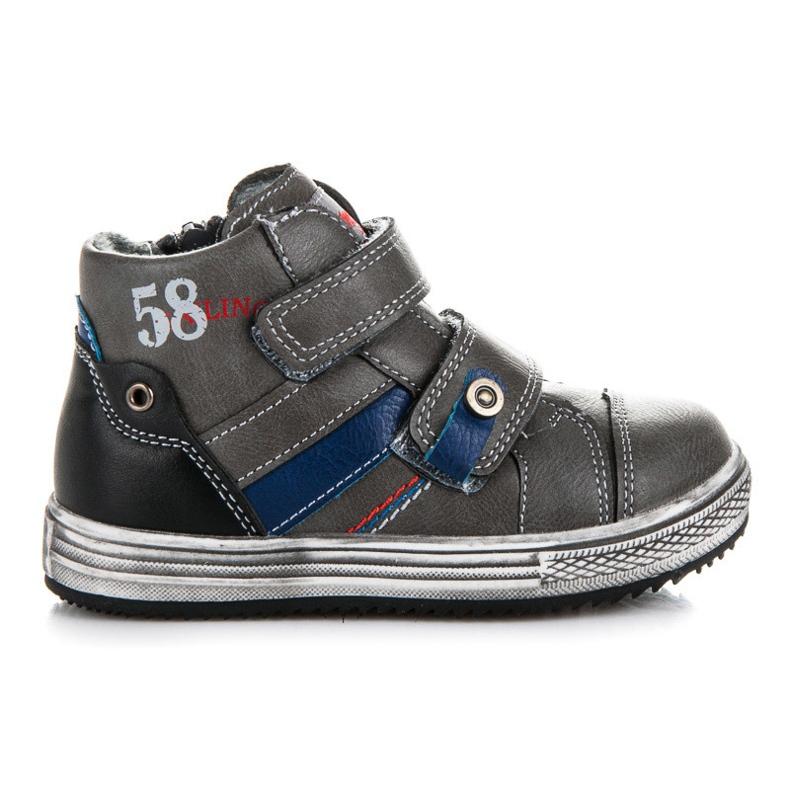 American Club Shoes For Boy grey