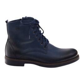 Ankle boots Nikopol 660 navy blue