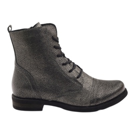 Edeo Ankle boots workery black metallic