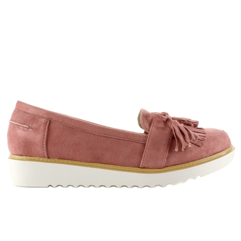 Moccasins for women 6043 Pink