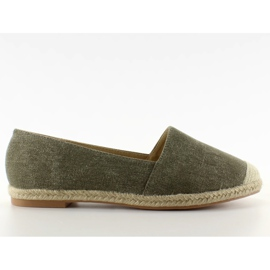 Espadrilles with linen noses JH23P Green