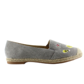 Espadrilles with JH21p Gray patches grey