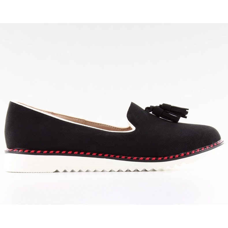 Moccasins lordsy with 9014 Black trimming
