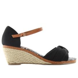 Sandals espadrilles 883-31 black