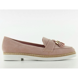 Classic ladies loafers 7101 Pink