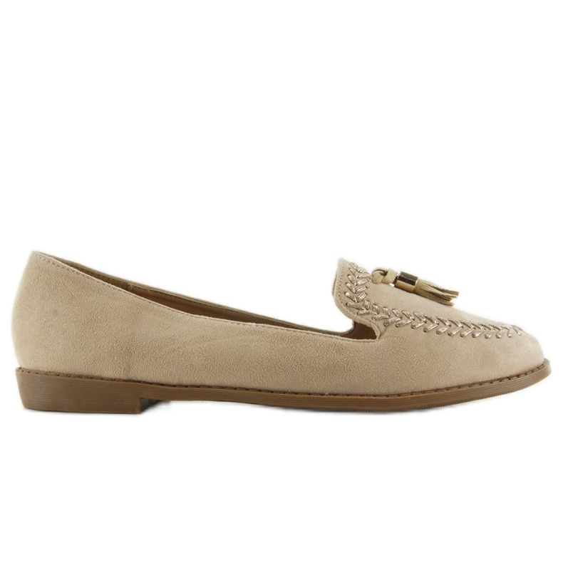 Moccasins with capped SK28P Beige noses