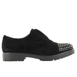 Shoes With Studs On Noses Wd31 Black