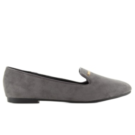 Classic lords suede lj-1a79 Gray grey