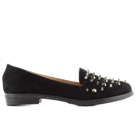Loafers lordsy with studs mb188-111 Black