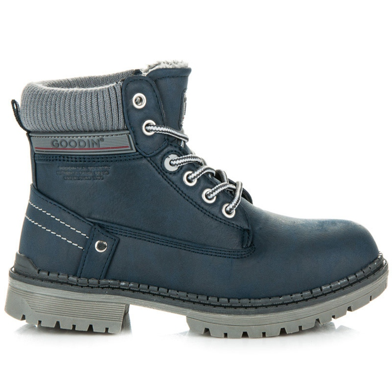 Goodin Boys' Trappers blue